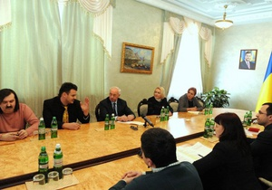 meeting of the Prime Minister of Ukraine Mykola Azarov with the representatives IT-industry